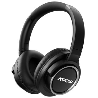 Mpow Active Noise Cancelling (ANC) Headphone, Over-Ear Bluetooth Headphone with Mic