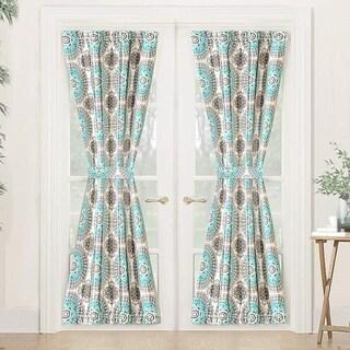 DriftAway Bella Rod Pocket Room Darkening Door Single Curtain Panel
