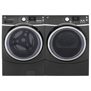"GE 27"" Washer and Electric Dryer"