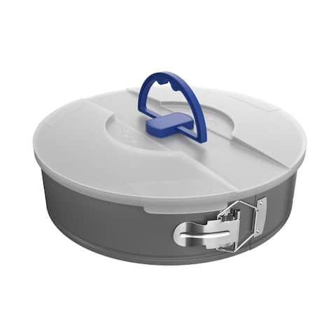 Springform Pan with Lid 10 inches Nonstick Baking by Classic Cuisine