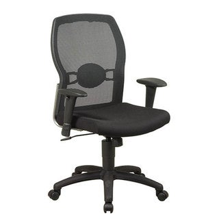 Office Star Screen Back Chair with Mesh Seat