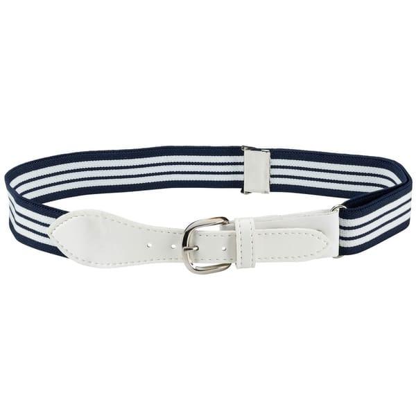 Hold'Em Kids Belts Elastic Adjustable Stretch Boy Belt Leather Closure -  Overstock - 26050170