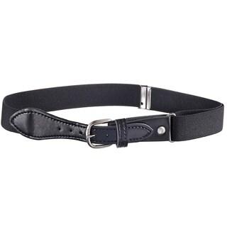 Hold'Em Kids Belts Elastic Adjustable Stretch Boy Belt Leather Closure