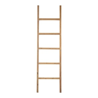 "East At Main's Darla Teak Decorative Ladder - 20""x2.5""x71"""