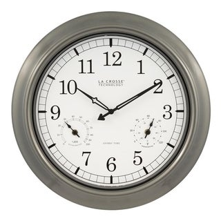 La Crosse Technology WT-3181PL 18-In. In/Out Classic Atomic Clock