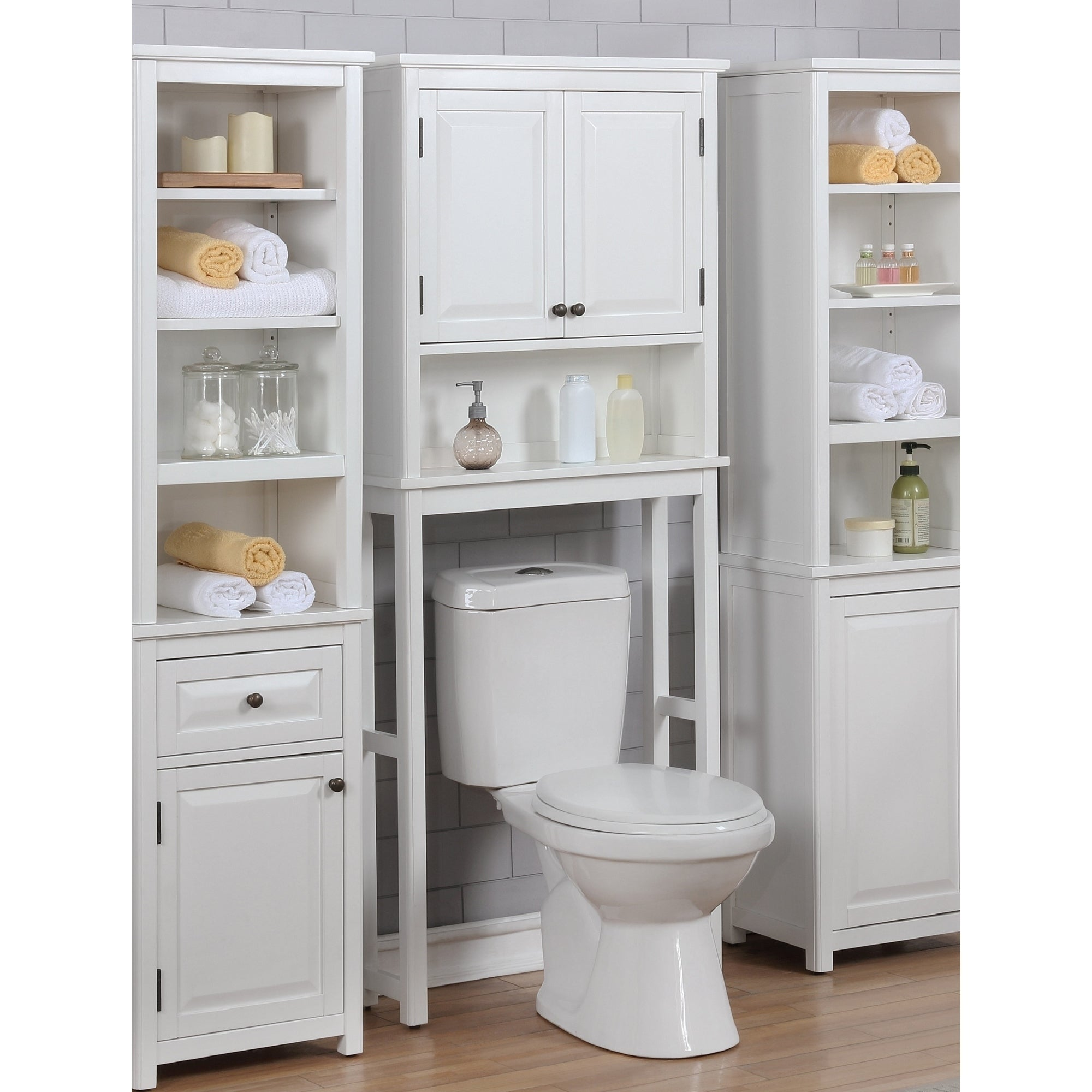 Shop Porch Den Everest Over The Toilet Space Saver Storage With