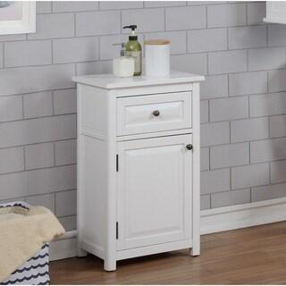 """Dorset 17""""W x 29""""H Floor Bath Storage Cabinet with Drawer and Door"""