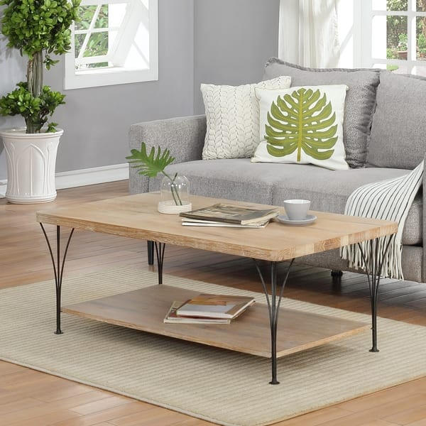Attractive Weathered Coffee Table Wood