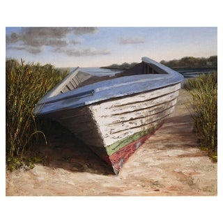 Masterpiece Art Gallery Montauk Skiff by Karl Soderlund Canvas Art Print