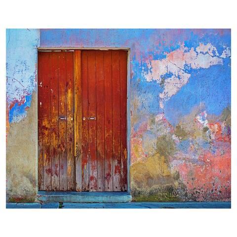 Masterpiece Art Gallery Global Patina Door by Ronald Cuyan Canvas Art Print