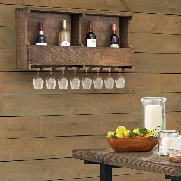 Carbon Loft Kenyon Reclaimed Wood Wine Rack