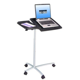Adjustable Ergonomic Laptop Computer Cart Desk