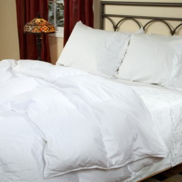 Shop Versailles Baffled Down Comforter King Warm Free Shipping
