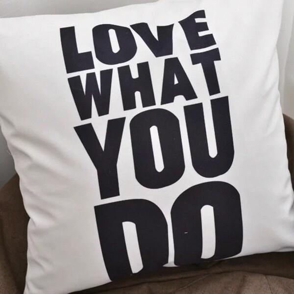 Adrien Lewis- Love What You Do Cushion