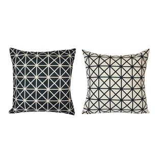 Lauren Taylor- Abstract Printed Microfiber Cushions (2 pk)