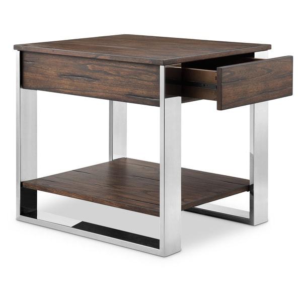 Carbon Loft Shailene Rectangular End Table