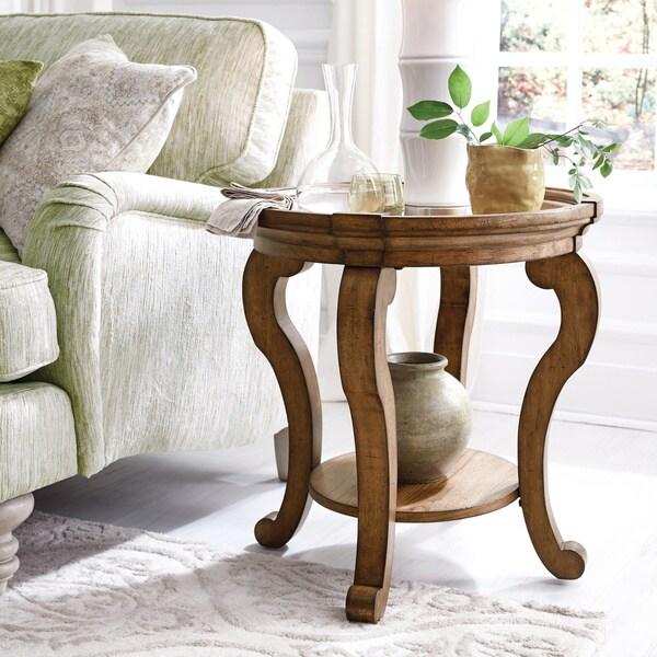Carbon Loft Michael Oval End Table