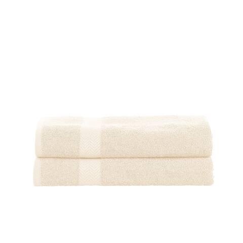 Miranda Haus Eco Friendly Combed Cotton Bath Sheet Set