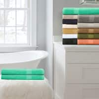 Superior 100-Percent Cotton Eco-Friendly 2-Piece Bath Sheet Set