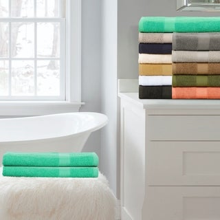 Superior 100-Percent Cotton Eco-Friendly 2-Piece Bath Sheet Set
