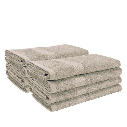 Miranda Haus 100-Percent Cotton Eco-Friendly 8-Piece Towel Set