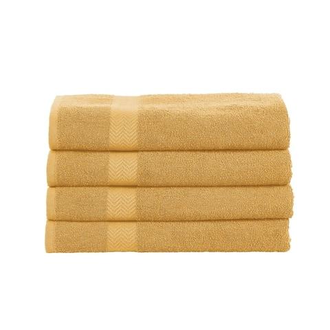 Miranda Haus 100-Percent Cotton Eco-Friendly 4-Piece Towel Set