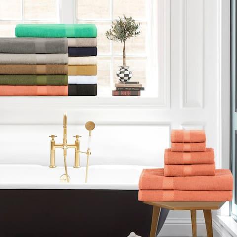 Miranda Haus 100-Percent Cotton Eco-Friendly 6-Piece Towel Set