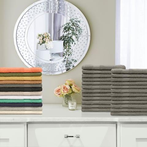 Miranda Haus 100-Percent Cotton Eco-Friendly 24-Piece Towel Set