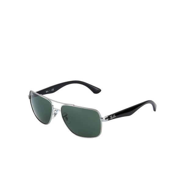 cf0ce2a3a5 Shop Ray-Ban Men s RB3483 Gunmetal Black Frame Green Classic 60mm Lens  Sunglasses - Free Shipping Today - Overstock - 26051386