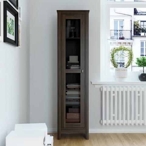 Avenue Greene Tamarisk 18 inch Wide Storage Cabinet with Mesh Door