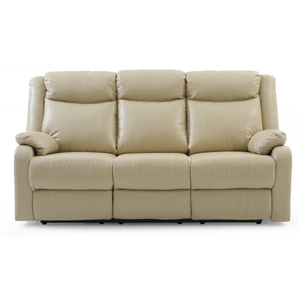 Peachy Shop Lyke Home Double Reclining Sofa Putty Free Shipping Pdpeps Interior Chair Design Pdpepsorg