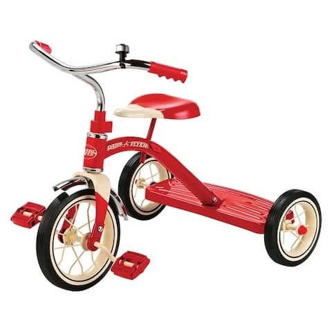 Radio Flyer 10 in. Dia. Tricycle Red Unisex