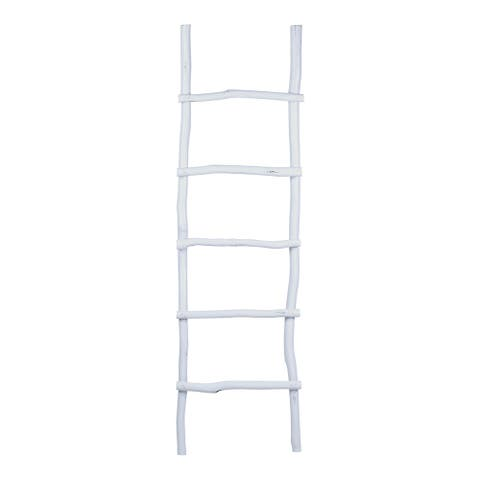 "East at Main's Dalillah Wooden Decorative Ladder - 22""x6""x75"""