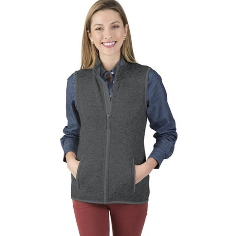 Charles River Women's Heathered Vest