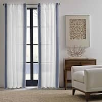 Ellen DeGeneres Woven Stripe Curtain Panel Pair - 84x52