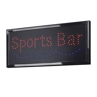 American Art Decor Sports Bar Framed Light Up LED Sign Wall Decor