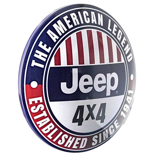 JEEP METAL SIGN CLASSIC AMERICAN CAR//JEEP GARAGE//MAN CAVE SIGN.