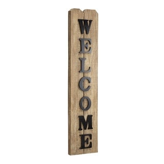 American Art Decor Wooden Welcome Sign