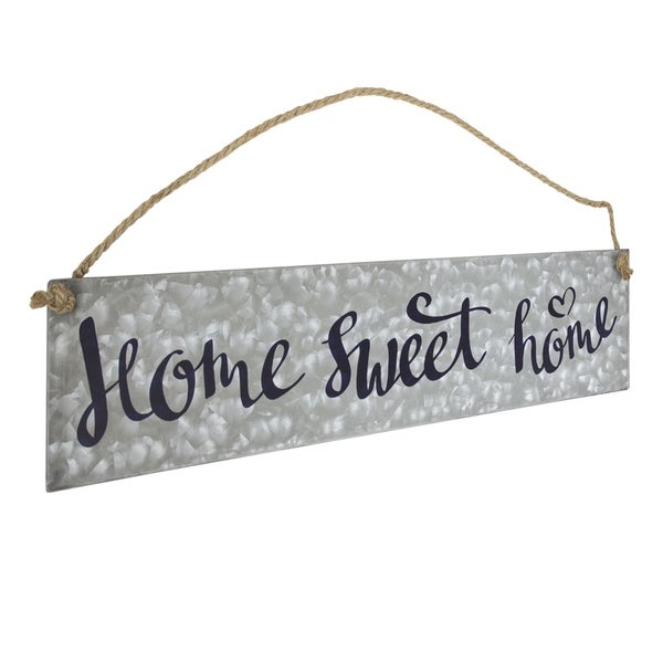 American Art Decor Home Sweet Home Hanging Metal Sign