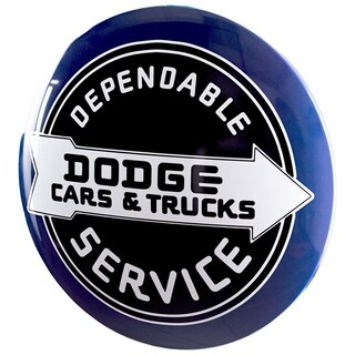 American Art Decor Licensed Dodge Cars & Trucks Hanging Metal Sign