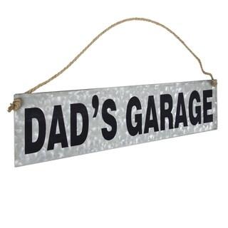 American Art Decor Dad's Garage Hanging Metal Sign