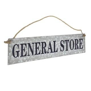 American Art Decor General Store Hanging Metal Sign