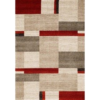 """Red 5x8 Rug - 5'4"""" x 7'5"""""""