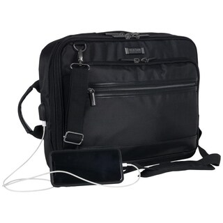 Kenneth Cole Reaction 'Tech-IT' Convertible 15.6-Inch Laptop Case / Business Backpack With USB Charging Port & RFID