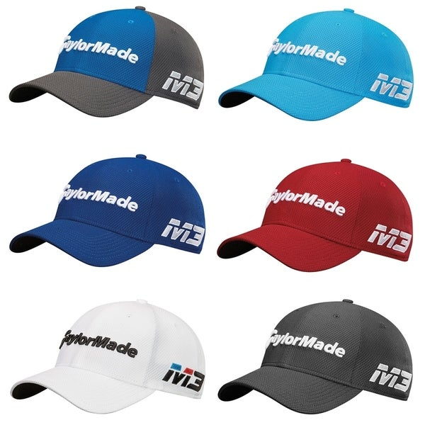 341b6710b5de8 Shop TaylorMade New Era Tour 39Thirty Fit Golf Cap - Free Shipping ...