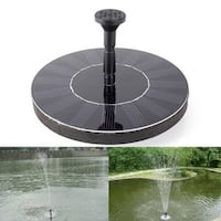 1.4W Bird Bath Fountain Pump Solar Panel Water Pump for Garden and Patio 160*160MM