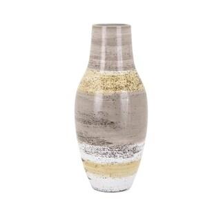 Medium Size Ceramic Vase, Multicolor
