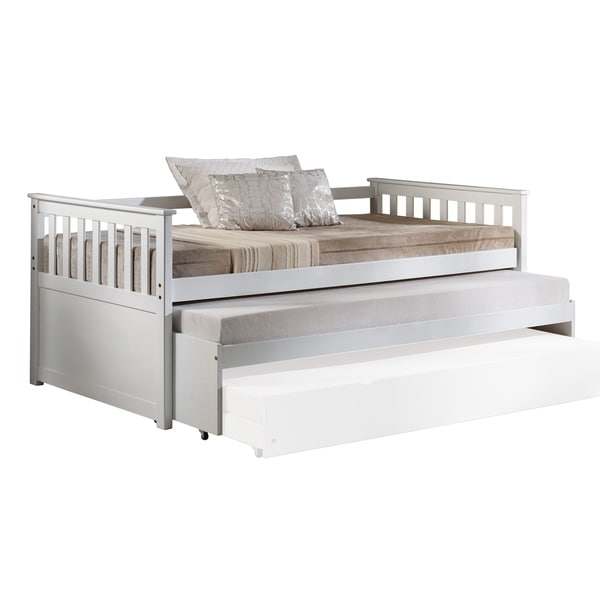 Acme Cominia Daybed Pull Out Bed White Free Shipping Today 26055237