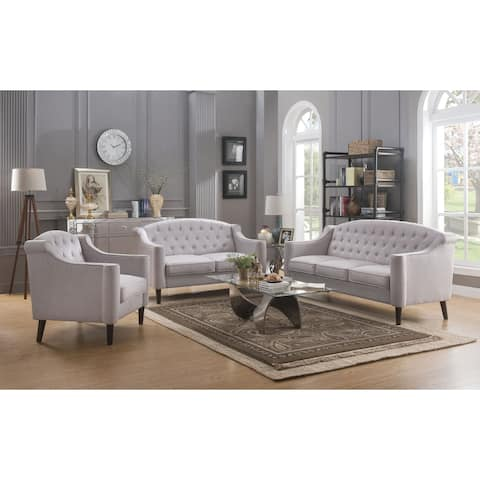 ACME Freesia Sofa, Cream Fabric