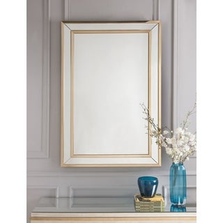 ACME Osma Accent Mirror, Mirrored & Gold